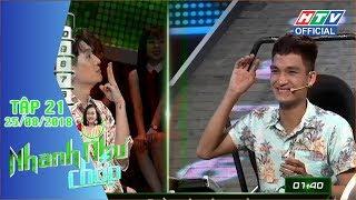 HTV NHANH NHƯ CHỚP | Vòng tứ kết hay hơn bao giờ hết | NNC #21 FULL | 25/8/2018