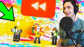 REACTING TO ROBLOX REWIND 2017! *I'M IN IT!*