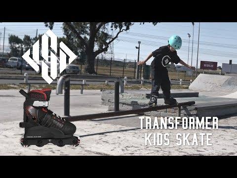 Video USD Roller Street TRANSFORMER Noir Rouge