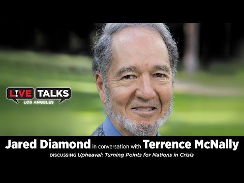 Jared Diamond in conversation with Terrence McNally at Live Talks Los Angeles