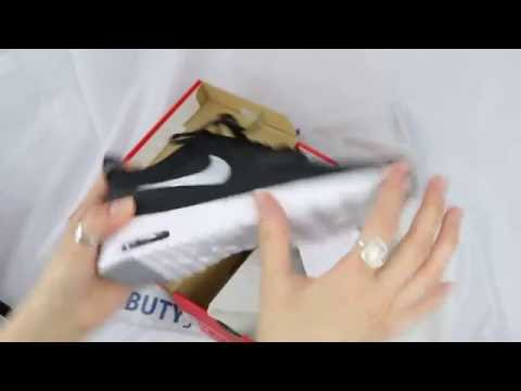 Unboxing - Womens Nike Air Max Thea 599409-007 Black / White