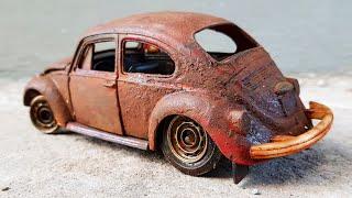 1970 Volkswagen Classic Beetle Restoration - Vintage Model Car Restoration