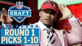 Picks 1-10: Multiple QBs, a Top 10 Trade & More! | 2019 NFL Draft