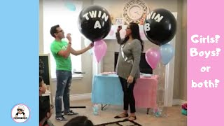 TWINS OF 2018 BABY GENDER REVEAL COMPILATION /CUTE UNIQUE BABY SHOWER IDEAS