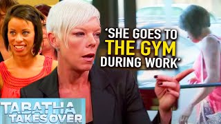 Stylist always at GYM - Tabatha Takes Over | S04E07 | Beauty Rescue (Reality TV) | Fresh Lifestyle