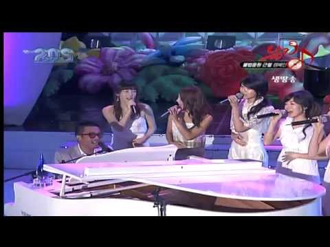 SNSD(소녀시대) & 김건모 - 사랑해 (Live Show)