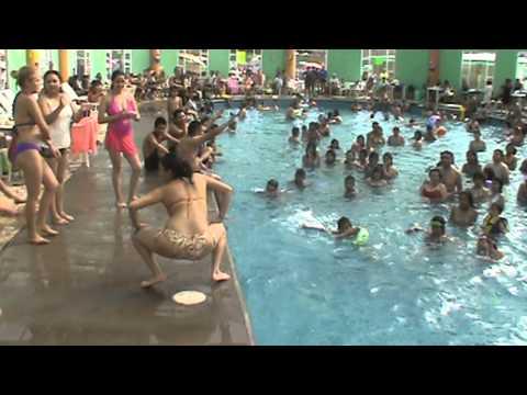 Concurso de baile Balneario Aquafest Semana Santa 2013 parte 1