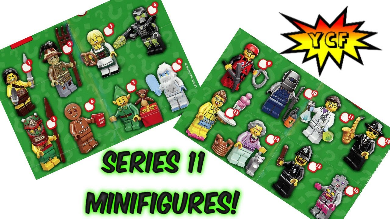 LEGO Series 11 Minifigures Pictures - Collectable LEGO ...