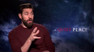 "A Quiet Place ||John Krasinski - Writer/Director/""Lee"" Domestic Junket Soundbites  || SocialNews.XYZ"