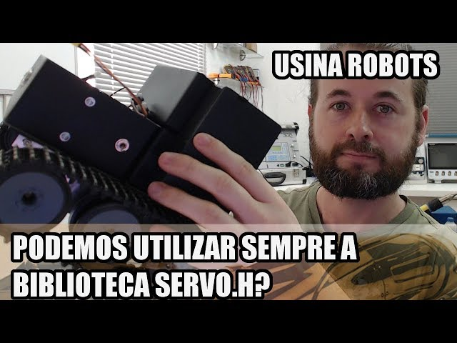 A BIBLIOTECA SERVO.H PODE SER UTILIZADA SEMPRE? | Usina Robots US-2 #135