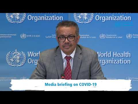 Live from WHO Headquarters - coronavirus - COVID-19 daily press briefing 30 March 2020