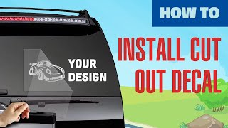 Small Sticker Application Instructions
