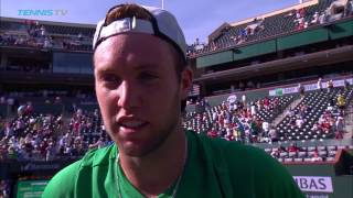 Interview: Jack Sock Scores First Top 5 Win
