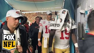 Watch the 49ers leave the field after their heartbreaking Super Bowl LIV loss | FOX NFL