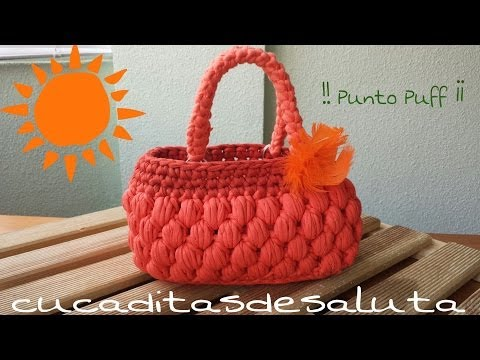 Tutorial Crochet Xxl : TUTORIAL COMO HACER PANERA A CROCHET CON TRAPILLO XXL Musica Movil ...