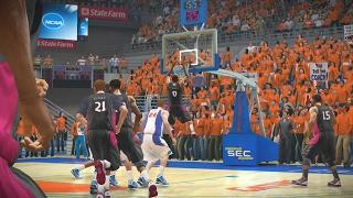 NCAA Basketball 10 2016 2017 Season South Carolina Gamecocks vs Florida Gators