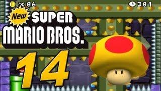 New Super Mario Bros. DS - Let's Play New Super Mario Bros. Part 14: Mini Mario vs. Mutant Tyranha