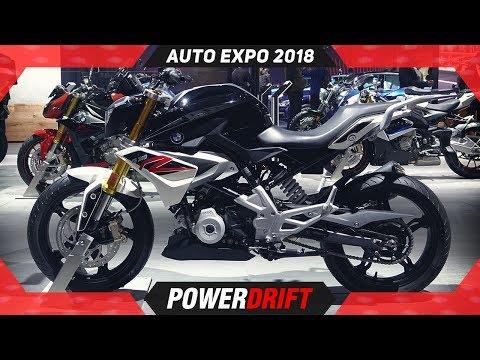 BMW G310R & G310GS @ Auto Expo 2018 : PowerDrift