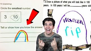 FUNNIEST KID TEST ANSWERS! Pt2
