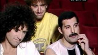 Queen - Live Aid - Backstage Interview Before The Show