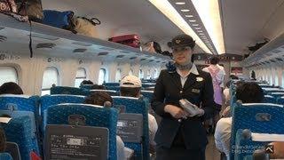 Nozomi Experience : Japanese High Speed Train - のぞみ