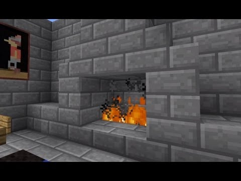 Minecraft Hidden Fireplace Door 100 Confirmed To Work On