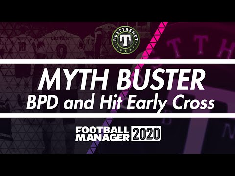 Myth Buster - Ball Playing Defenders and Hit Early Cross Football Manager 2020