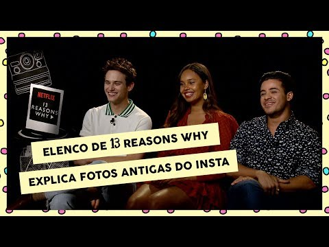 Elenco de 13 Reasons Why explica fotos antigas e fala de 2ª temporada | CH Entrevista