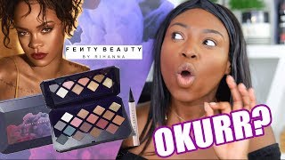 OKURR FENTY BEAUTY WHAT HAVE YOU DONE? MORROCAN SPICE PALETTE REVIEW