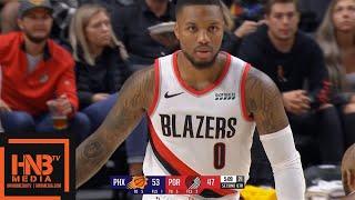 Phoenix Suns vs Portland Trail Blazers - 1st Half Highlights | October 12, 2019 NBA Preseason