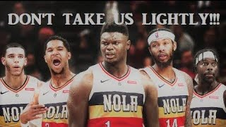THE NEW ORLEANS PELICANS WILL SNEAK UP ON THE NBA!!
