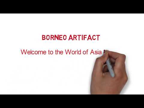 Asian Antique Art, Crafts and Culture (Borneo Artifact)