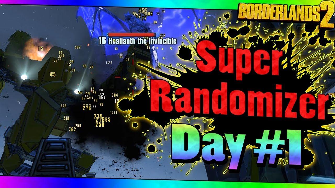 Borderlands 2 | Super Randomizer | Day #1