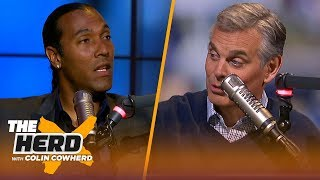 TJ Houshmandzadeh: AB has 'nothing to gain' slamming JuJu, talks McCarthy & Rodgers | NFL | THE HERD