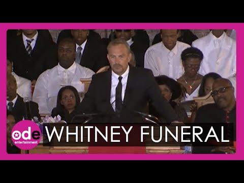 Kevin Costner's emotional speech in full at Whitney Houston's funeral