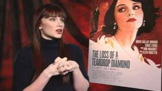 The Loss of a Teardrop Diamond - Exclusive: Bryce Dallas Howard Interview