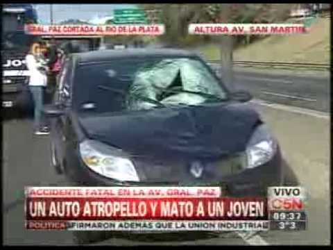 C5N - TRANSITO: ACCIDENTE FATAL EN AVENIDA GENERAL PAZ Y SAN MARTIN - Smashpipe News