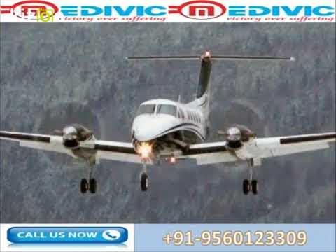 Medivic Aviation Air Ambulance Service in Varanasi at Low-Cost