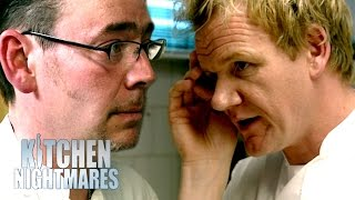 Gordon Shocked at Bankrupt Chef's Expensive Ingredients | Kitchen Nightmares UK
