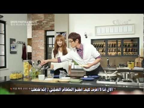[Arabic Sub] Victoria @ Kangta's Pasta e Basta - part1