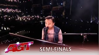 Kodi Lee: America Loves Kodi Gets STANDING Ovation in Semifinals! | America's Got Talent 2019