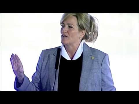 U.S Marshals Museum Groundbreaking Ceremony: Director Stacia Hylton
