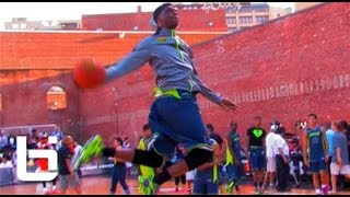 "6'5"" Emmanuel Mudiay Future NBA All-Star? Official Ballislife Summer Mix!"