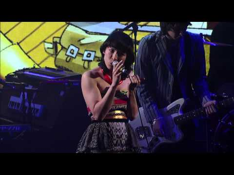 Gorillaz - Empire Ants feat. Little Dragon (Live on Letterman)