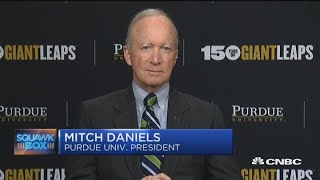 Purdue University President Mitch Daniels weighs in on the college admissions scandal