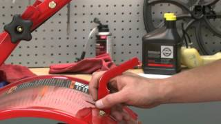 Troy-Bilt Tiller Repair – How to replace the Adjustable Depth Bar