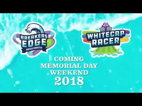 Two all-new attractions, Breakers Edge Water Coaster and Whitecap Racer, are coming to The Boardwalk At Hersheypark Memorial Day Weekend 2018!
