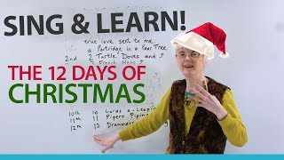 The 12 Days of Christmas – Sing and Learn English!
