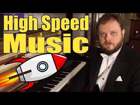 Can You Recognize a Song Played at High Speed?
