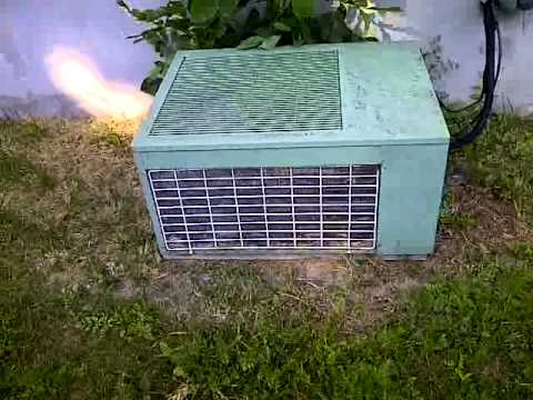 Keeprite 1990 Ish Central Air Conditioning Unit Youtube